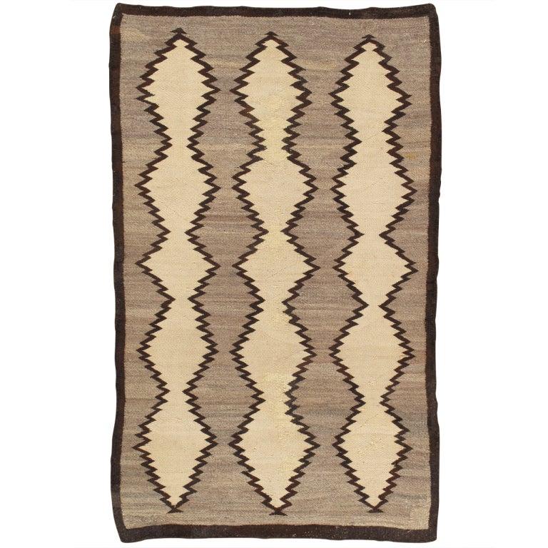 Vintage Navajo Rug 3 2x5 2 At 1stdibs