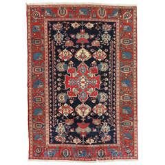 Vintage Persian Bakhtiar Carpet