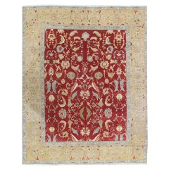 Vintage Indian Agra Carpet