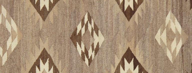 Native American Vintage Navajo Rug For Sale