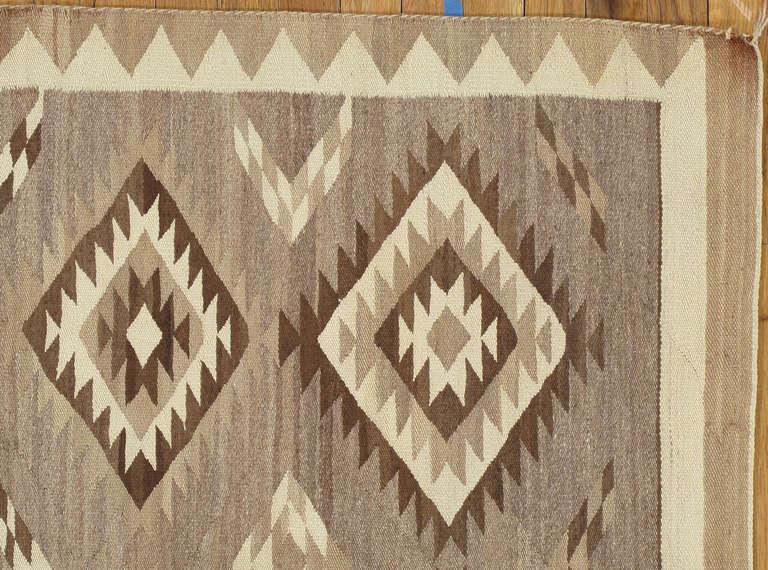 American Vintage Navajo Rug For Sale