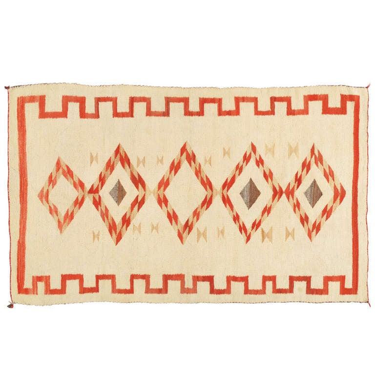Antique Navajo Rug 1