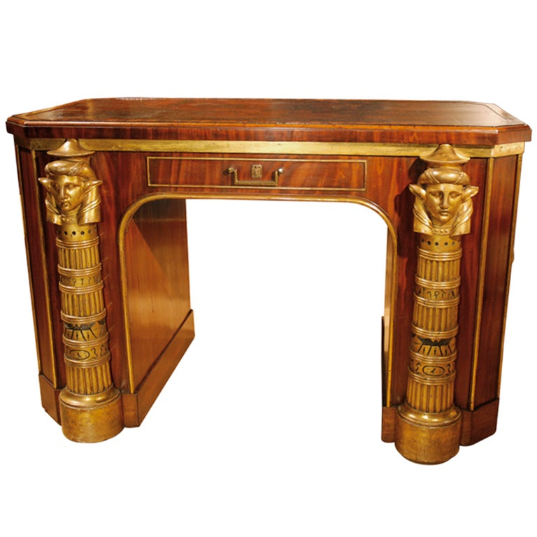 An Early 19th Century Library Table