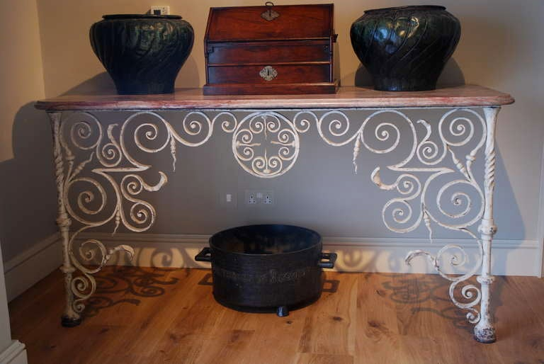 Rare Pair of Early 18th Century Console Tables 8