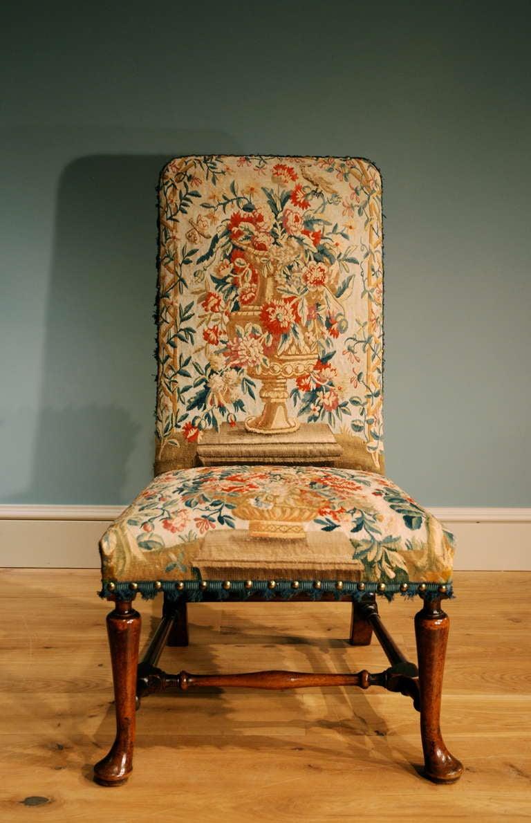 George I Walnut Side Chair 2