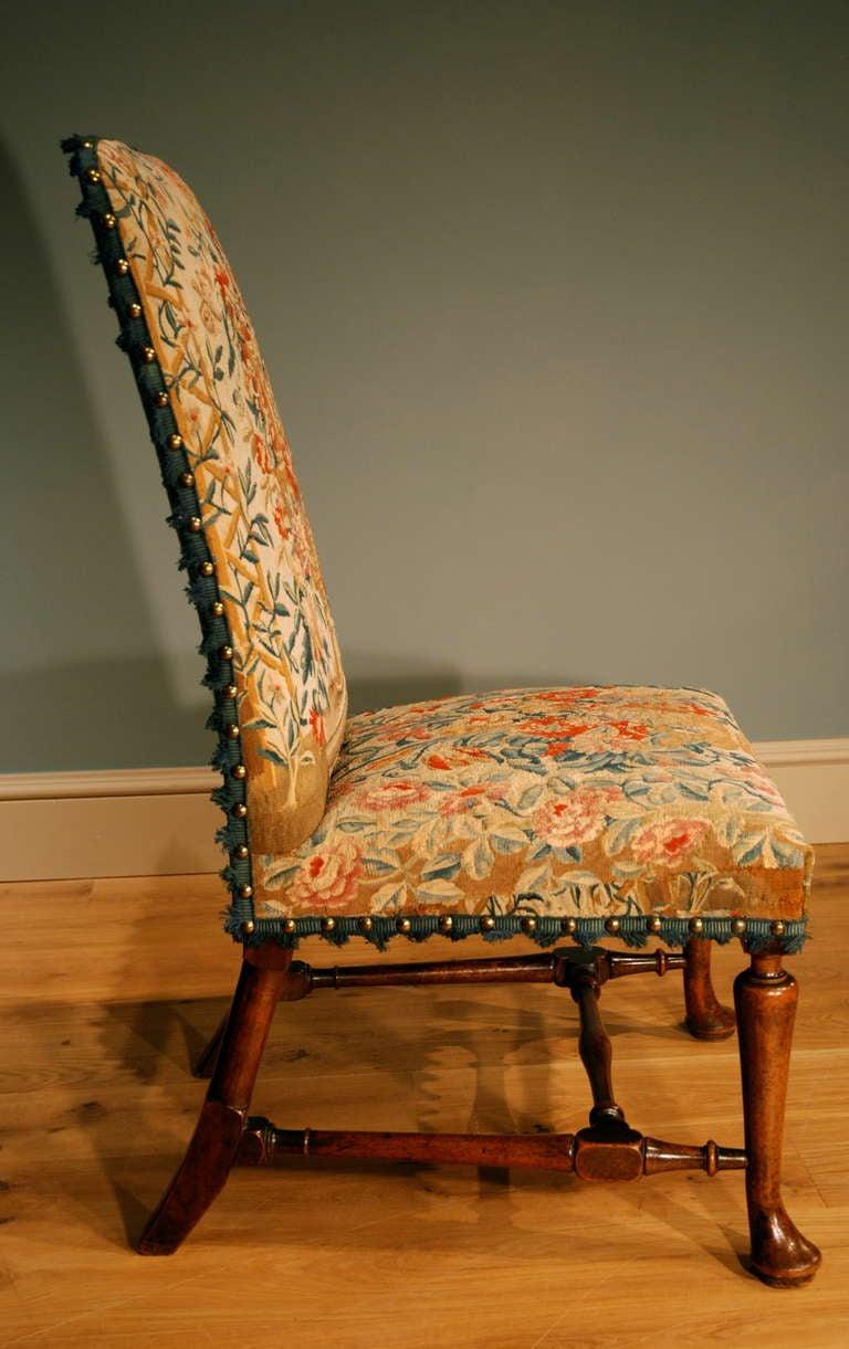 George I Walnut Side Chair 3