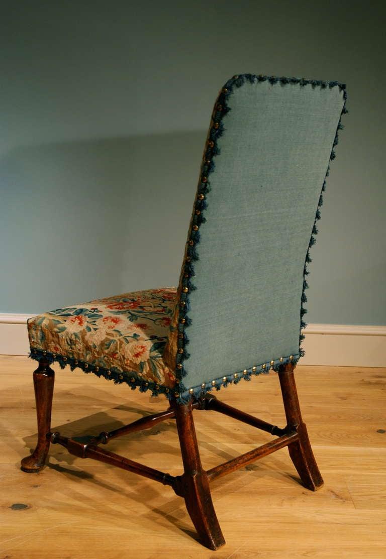 George I Walnut Side Chair 4