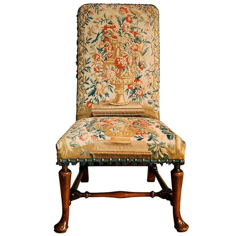 George I Walnut Side Chair 1