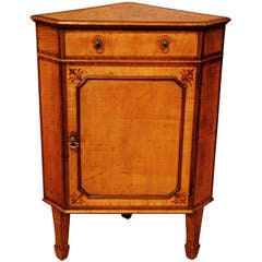 Late 18th Century Standing Corner Cupboard