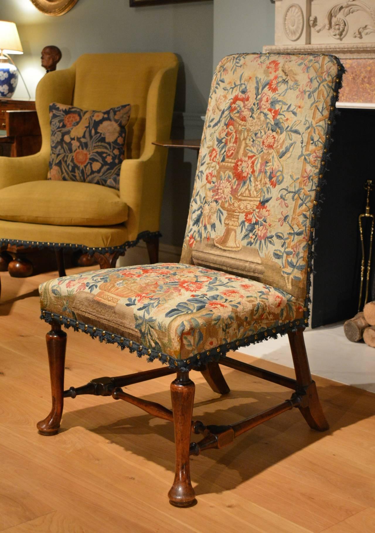 George I Walnut Side Chair 6
