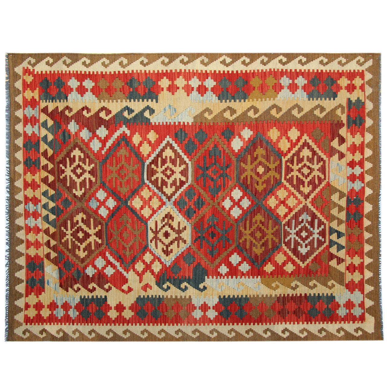 Kilim Rug From Afghanistan At 1stdibs