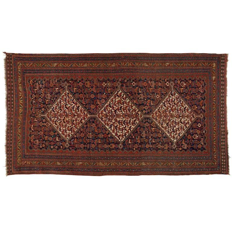 Antique Persian Rugs, Carpet from Khamseh