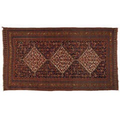 Antique Persian Rugs, Carpet from Khamseh