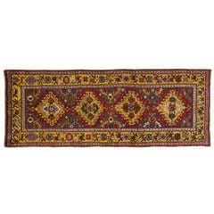 Antique Carpet Runners, Caucasian Runner Rugs from Karabagh