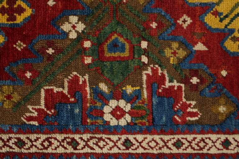Antique Carpet Runners, Caucasian Runner Rugs from Karabagh 3
