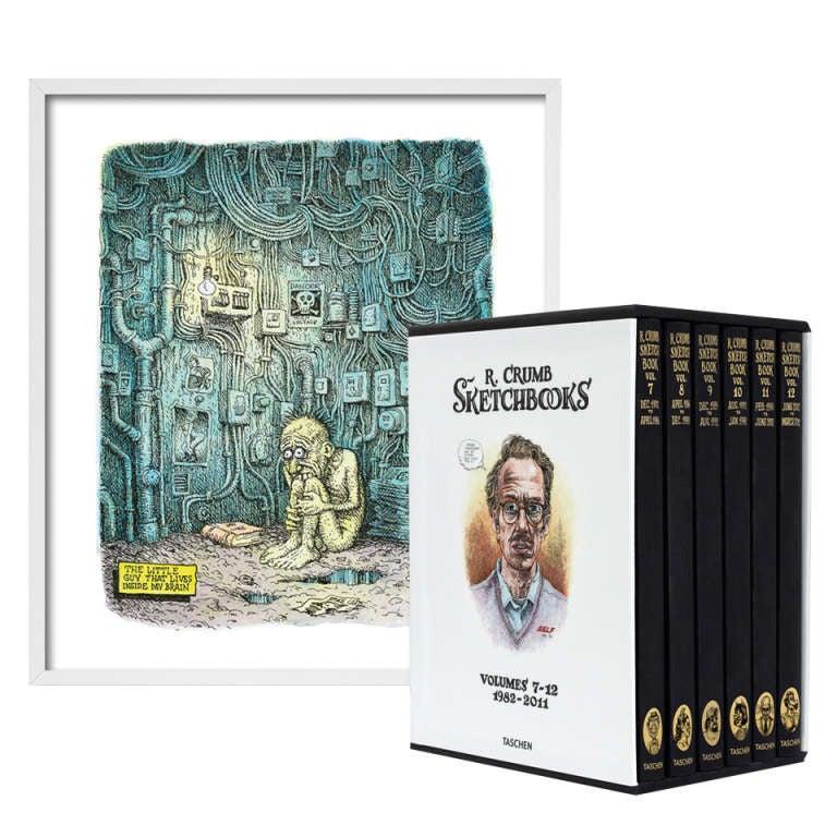 Robert Crumb, Sketchbooks 1982-2011