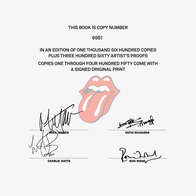Rolling Stones, Art Edition B In Excellent Condition For Sale In Los Angeles, CA