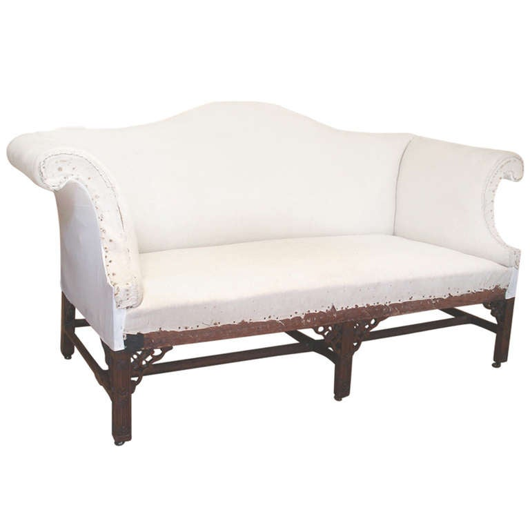 George Ii Period Camel Back Sofa At 1stdibs