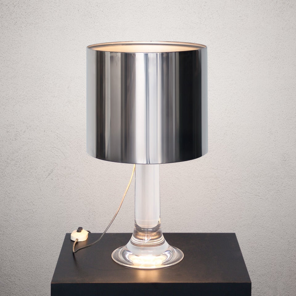 Table Lamp Design Harvey Guzzini 1970 At 1stdibs