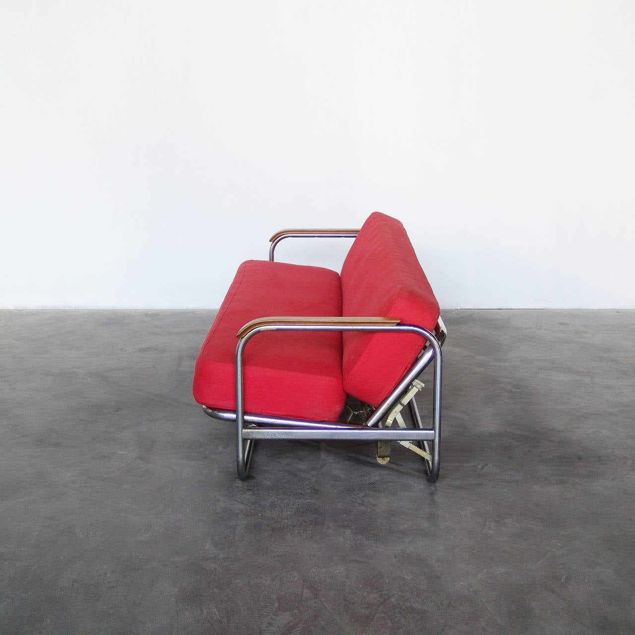 Sofa bed designed by alvar aalto 1939 at 1stdibs for Alvar aalto chaise longue
