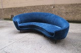 Curved sofa,  Ico Parisi design, image 3
