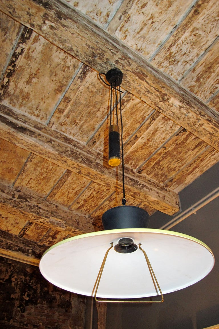 Celling Lamp Design Stilux Milano At 1stdibs