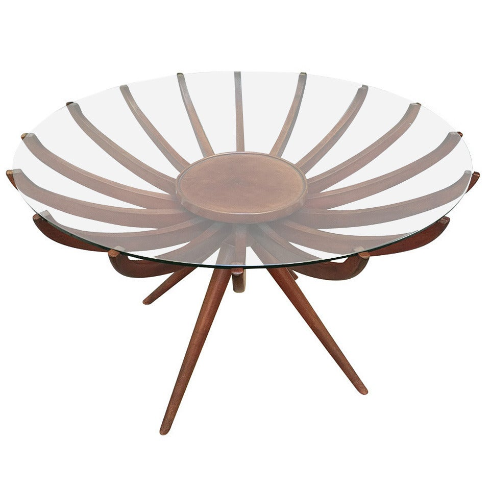 Beautiful Coffee Table Designed By Carlo De Carli 1950 At 1stdibs