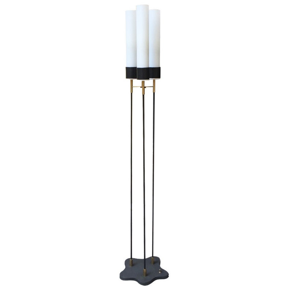 Floor lamp designed by stilnovo 1950 for sale at 1stdibs for 1950 floor lamp