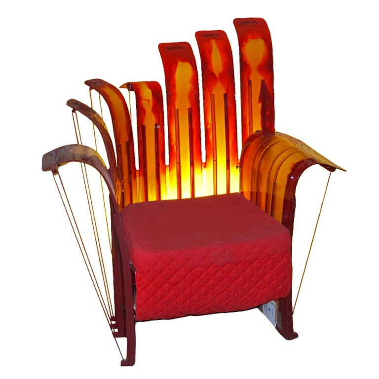 Armchair Design Gaetano Pesce At 1stdibs