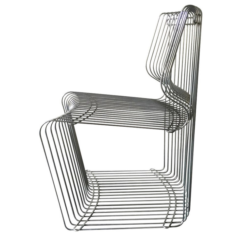 four dining chair designed by verner panton for fritz hansen for sale at 1stdibs. Black Bedroom Furniture Sets. Home Design Ideas