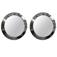 Beautiful Pair of Bright Mirrors, 1970