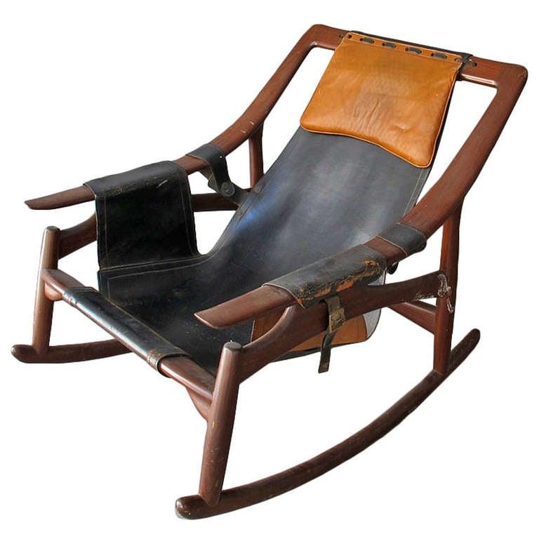 Rare Armchair, designer Arne Tidemand Ruud at 1stdibs