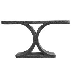 Cast Stone JMF Console by Karl Springer