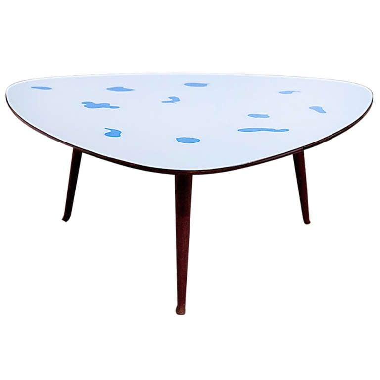 Rare Coffee Table By Osvaldo Borsani At 1stdibs