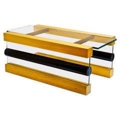 Prototype Donald Coffee Table by Ettore Sottsass