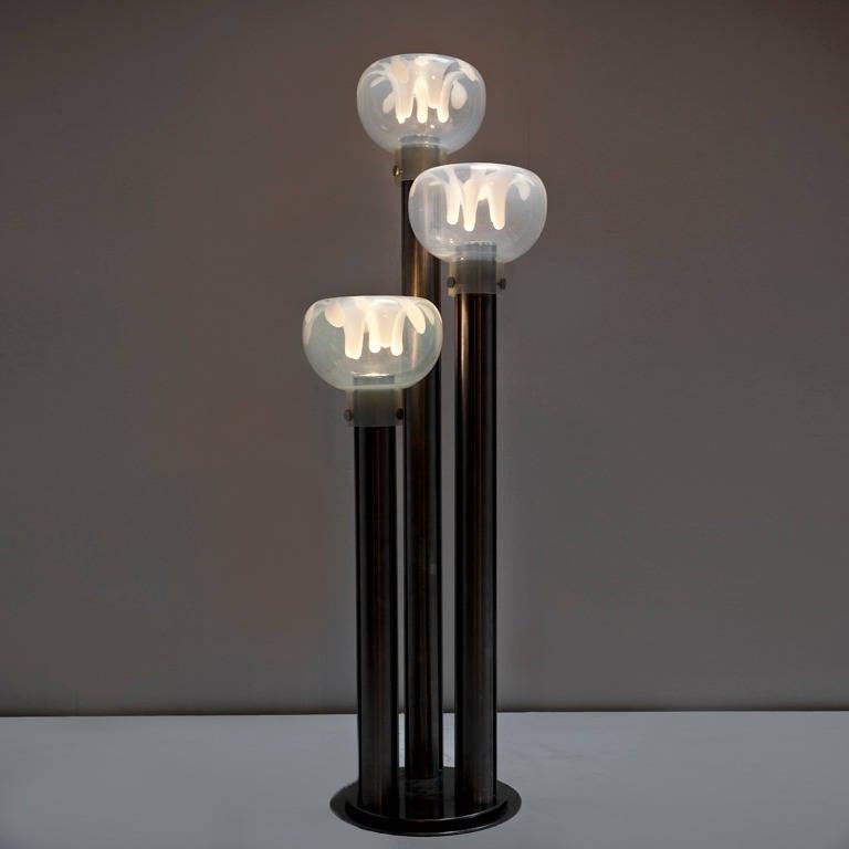 Modern Floor Lamp by Toni Zuccheri For Sale