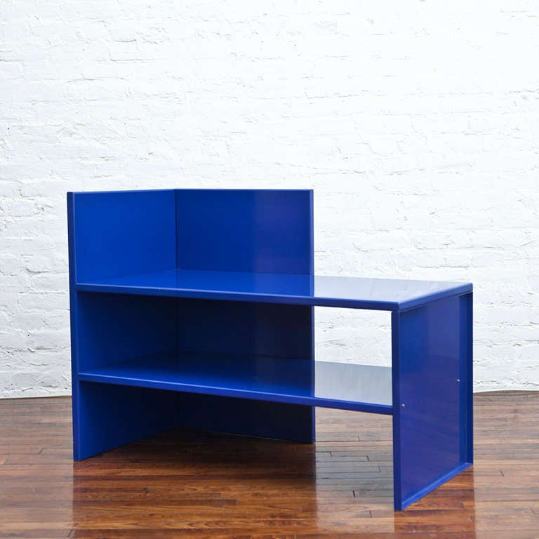 corner bench  53 by donald judd at 1stdibs
