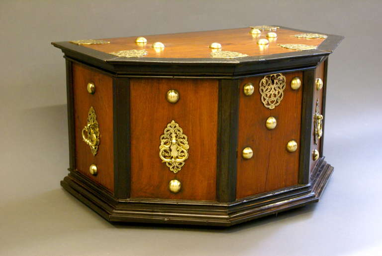An unusual portugese ebony and padouk credence box at 1stdibs for Credence decorative