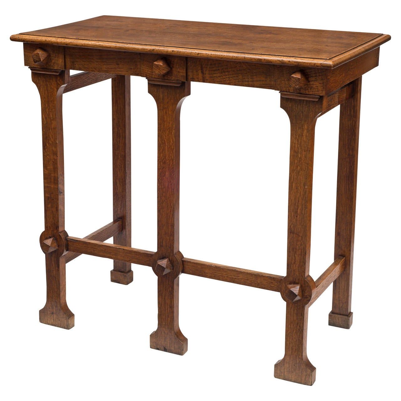 unusual arts and crafts table at 1stdibs. Black Bedroom Furniture Sets. Home Design Ideas