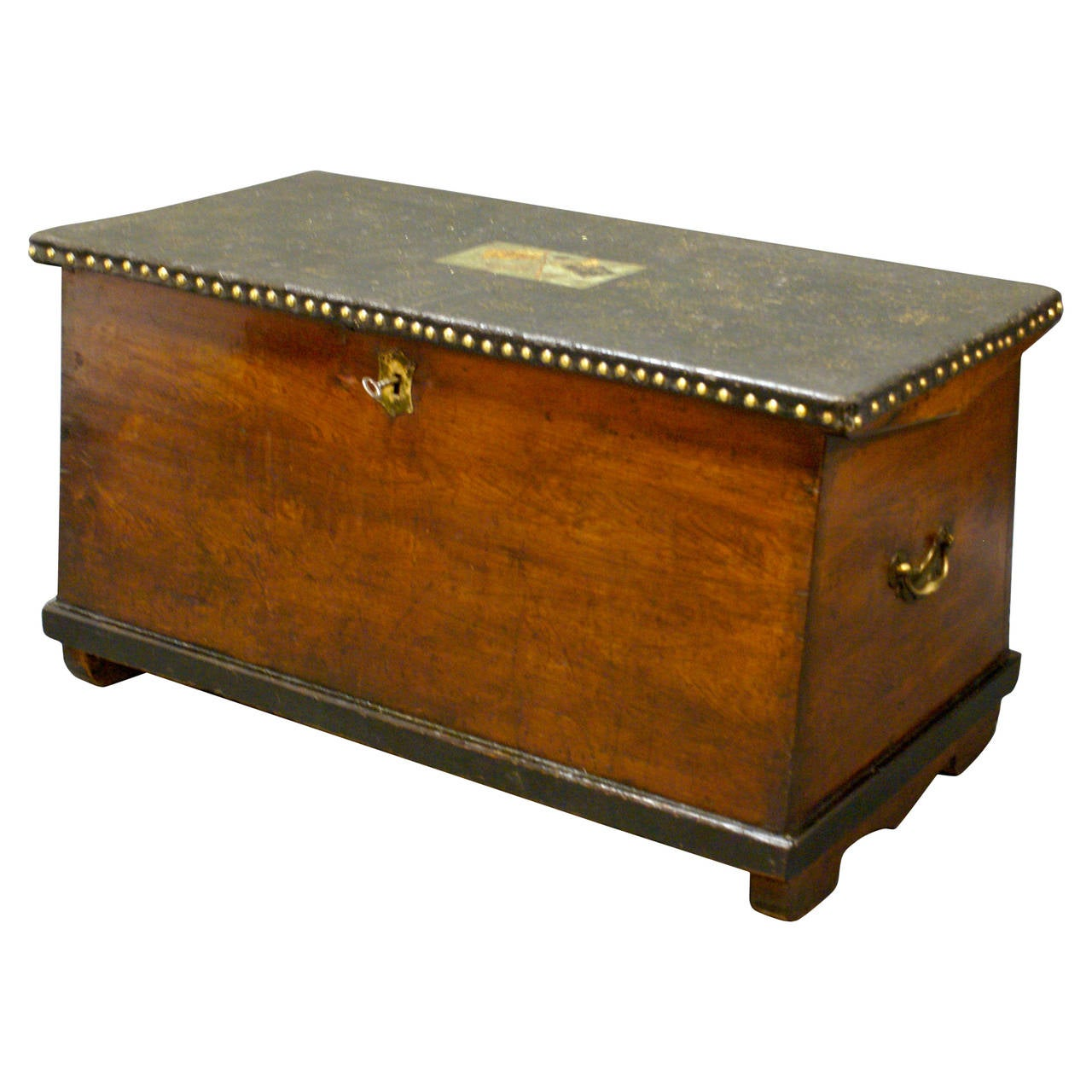An Interesting And Decorative Seamans Chest At 1stdibs