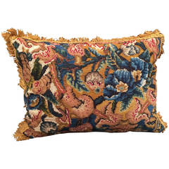 Very Fine Pair of Needlework Cushions