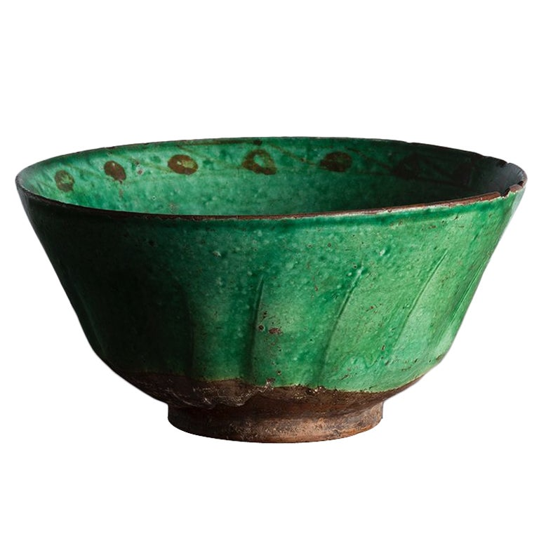 12th C Islamic Bowl From Charles Gillot Collection At