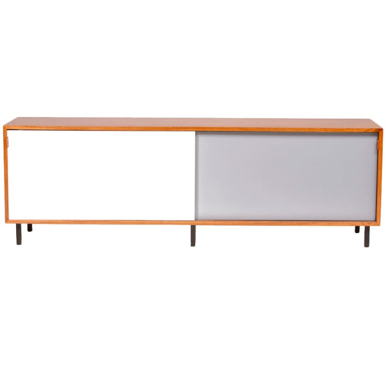 buffet cabinet designed by florence knoll circa 1960 at. Black Bedroom Furniture Sets. Home Design Ideas