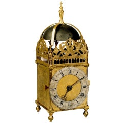 Antique Oriental Lantern Clock