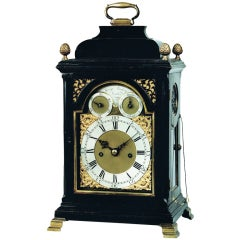 George III Bracket Clock by George Lindsay, London