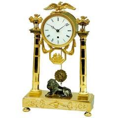 Antique Regency Period Clock by Baetens, London