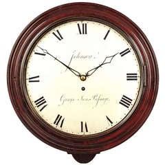 Antique Wall Clock by John Johnson, London