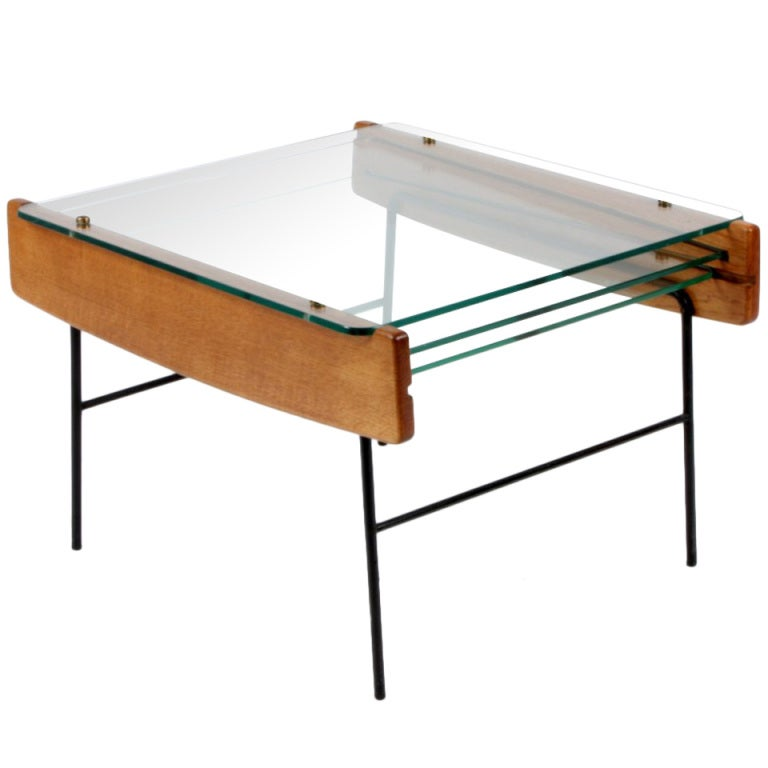 Andre Monpoix Coffee Table With Three Removable Glass