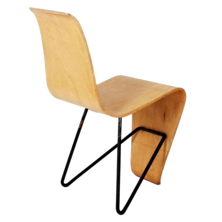 Andr 233 Bloc Bellevue Chair At 1stdibs