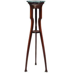 Rare Paul Croix-Marie Art Nouveau Pedestal